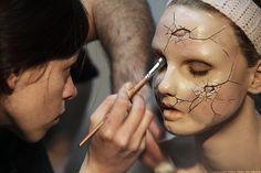 Doll sfx makeup