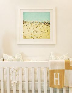 Babyletto Modo Crib in Hank's Beach-Inspired Nursery on @Apartment Therapy Family