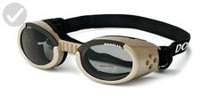 Doggles ILS Small Chrome Frame and Smoke Lens - For our pretty pets (*Amazon Partner-Link)