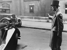 Robert Frank: Chauffeur and Automobiles, London, 1951-52
