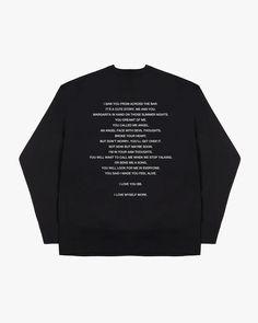 'I Love you BB' Sweatshirt - L