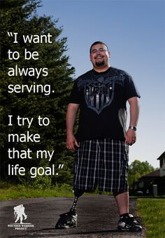 Wounded Warrior Project on Pinterest | Warriors, Soldiers and Army ...