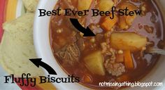 Not Missing a Thing! Allergy Friendly Cooking: Best Ever Beef Stew {gluten, dairy, egg-free}