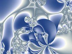 フラクタル, 青, 背景, 運動, 未来の, 創造的です, エネルギー, デジタル, 近代的な, 技術, 芸術
