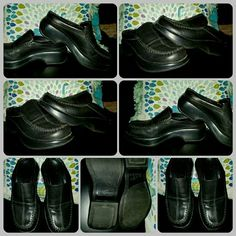 DANSKO A+ QUALITY BLACK LEATHER SLIP ON SHOE CLOGS if you ALREADY OWN any auth DANSKO BRAND shoes then you know the QUALITY & COMFORT is just LEGENDARY.. these are SLIP ON CLOG SHOES in a EUROPEAN SIZE 36 which is about WOMEN'S SIZE 6-6.5..these are in EXCELLENT pre-luved condition Dansko Shoes