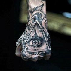 Eye Tattoo Illuminati Tat New Ideas Hand Tattoos For Guys, Cool Forearm Tattoos, Forearm Tattoo Design, Finger Tattoos, Cool Tattoos, Hand Tattoos For Men, Hand Eye Tattoo, 16 Tattoo, Hand Tats