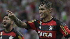 Paolo Guerrero ya tiene dos goles con camiseta de Flamengo. (Flamengo)
