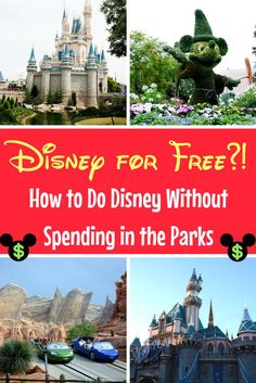 Don't spend any money inside the Disney Parks with these practical tips!
