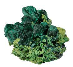 Malachite Pseudomorph After Azurite, Tsumeb Mine, Tsumeb, Otjikoto Region, Namibia, Miniature, 5.1 x 4.2 x 4.2 cm, This malachite…