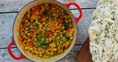 Det er så deilig med retter som lages i en fei, men som allikevel er knallgode og fulle av smak! Dette er en slik rett, og den kan absolutt... Chana Masala, Ethnic Recipes, Food, Essen, Meals, Yemek, Eten