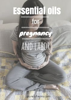 The best essential oils for pregnancy and labor! Using essential oils can help make pregnancy a bit easier with nausea and sleep. And labor will be painful but there is an oil for that! Pregnancy Labor, Pregnancy Health, Pregnancy Workout, Pregnancy Oils, Essential Oils For Pregnancy, Breastmilk Storage Bags, Childbirth Education, Pregnant Mom, 32 Weeks Pregnant