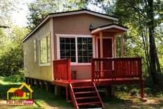 Country Park Model Tiny Home by Pint Sized Tiny Homes - USA