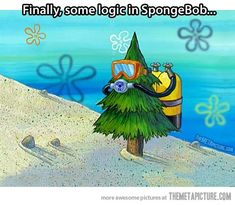 Logic in SpongeBob…