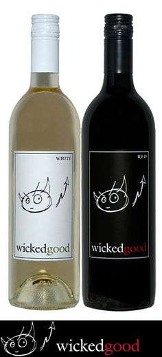 WickedGood White and Red Wines