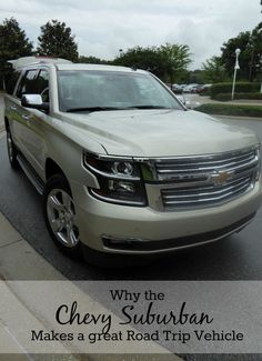 Why the Chevy Suburban Makes a great road trip vehicle #TMOMChevy