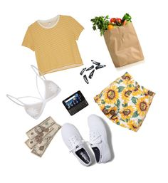 """""""Egg"""" by enswi on Polyvore featuring Monki and Keds"""
