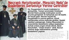 Necranlı Hıristiyanlar, Mescid-i Nebi'de İbadetlerini Serbetçe Yerine Getirdiler