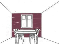 Vergroten of verkleinen, verhogen of verlagen? Met kleur kan je veel bereiken in je interieur. Daarom hebben wij de meest voorkomende effecten voor je opgezocht en die zie je hieronder. Minder diep Wil je de ruimte minder diep laten lijken? Kies dan voor een donkere kleur voor één van de muren. Op deze manier lijkt het of de muur op je af komt. Ga je voor een lichtere kleur dan is dat meer om de ruimte een accent te geven.