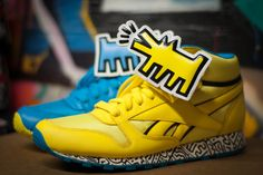"KEITH HARING X REEBOK COLLECTION – ""A Closer Look"""