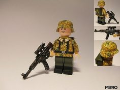Wehrmacht Soldier Pea Dot Camo