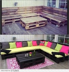 DIY Projects with Wood Pallets... Ahhhh there are so many pallet DIY projects I have obligated my future self to do..