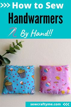 Take a look at these great hand warmers that you can hand sew. Following this easy sewing tutorial will give you a fun and creative way to make hand warmers in minutes. These hand warmers are great to keep your hands or your feet warm during the colder months. And yes, they make great handmade gifts too! The fact that they can be made easily make them great beginner sewing projects!