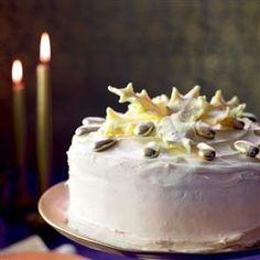 Almond and white chocolate mousse cake recipe. Rich, sexy and indulgent, this cake is so naughty, but sooo nice.