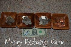 Montessori Money Exchange Game montessori-inspired-activities-and-ideas