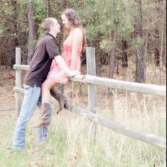 Engagement pics country