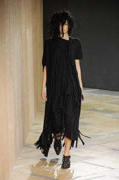 Given that the influence of the great Japanese fashion designers seems more prevalent than ever just now, all eyes were on Junya Watanabe who opened the Paris collections this morning...