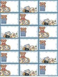 Resultado de imagen para etiquetas infantiles picasa