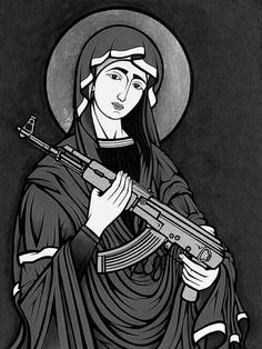 Praise our lord and his sheep. and smeight all off those who question him. With my AK-74