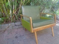 Mid Century Danish Chair- lounge living Chair- retro- vintage
