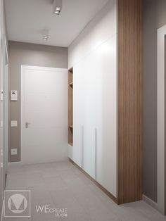 Hall Wardrobe, Wardrobe Design Bedroom, Bedroom Bed Design, Corridor Design, Foyer Design, House Design, Alcove Storage, Hallway Storage, Hallway Furniture