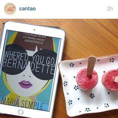 Post do Cozinha Literária no blog do Cantão  @cantao #viverbem #cadevocebernadette? #wheredidyougobernadette #mariasemple #sorbet #petisco #sobremesa #delicia #livro #receita #book #recipe