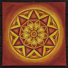 nastenka.j / Mandala OHEŇ (číslo Ba gua - 9)