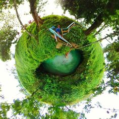 Now this is one of the coolest places I've ever visited! From my shoot last week in Samoa shot on #gear360