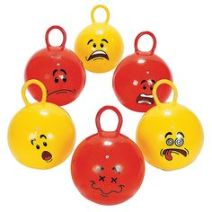 Funny Face Happy Hoppers - OrientalTrading.com