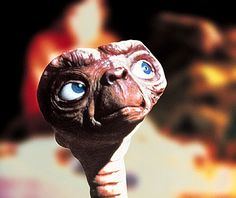 E.T. Phone Home!  My first sci-fi movie!