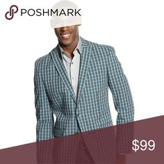 ?? Sean John Collection Plaid Sport Coat This awesome Sean John plaid blazer is a classic addition to any Spring/Summer wardrobe. Featuring a clean, modern silouhette and skinny lapels, you can wear this jacket with jeans, linen pants or dress slacks. In brand new condition. Sean John Suits & Blazers Sport Coats & Blazers