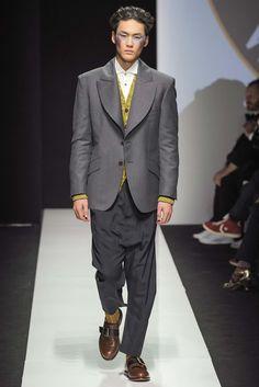 Vivienne Westwood Fall 2015 Menswear Fashion Show