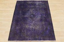 Cololierter Vintage Teppich LILA VIOLETT