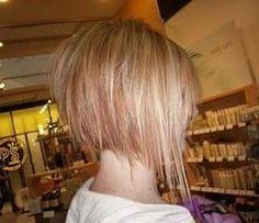 Razored Bob Haircuts Back