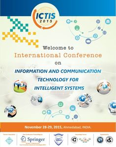 Welcome to ICTIS-2015!  #VICT'S Simple Objective is to provide opportunities for researchers, Academicians, Industry Persons and Obviously our Valuable Students...  At #ICTIS2015 You Will be Enlightened about Vast Avenues & Current and Emerging Technological Developments...  Get ready for the thrill with #ICTIS-2015  Last Date for Paper Submission: September 24, 2015  For more information about #ICTIS-2015 refer to shared snapshots...
