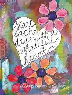 Ebern Designs Grateful Heart by Bethany Joy Wall Decal Size: Illustration Photo, Illustrations, Louise Hay, Wort Collage, Art Quotes, Inspirational Quotes, Wife Quotes, Friend Quotes, Motivational