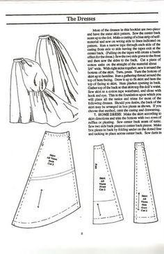 a bustled skirt pattern forr al your victorian / fantasy / princes and steampunk needs.