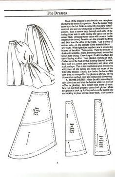 1880's bustle pattern #2