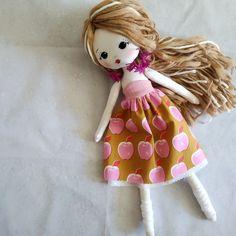 Custom made doll, Handmade Fabric doll, Rag doll, Interior Doll, Heirloom Doll, Nursery Decor Art Doll, Gift Idea for Kids and collectors Rag Dolls, Fabric Dolls, Baby Nursery Decor, Teacher Appreciation Gifts, 6 Years, Custom Fabric, Wool Felt, Interior, Handmade