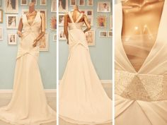 Soft wedding dress with / inspiration. Soft Wedding Dresses, Exclusive Collection, 1930s, Custom Made, Bridal Gowns, Eve, Ready To Wear, Wedding Day, Bride