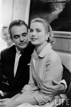 Before: Prince Rainier and Grace Kelly of Monaco. Grace Kelly Husband, Grace Kelly Wedding, Grace Kelly Style, Princess Grace Kelly, Princess Caroline Of Monaco, Monaco As, Kelly Monaco, Monaco Royal Family, Hollywood Couples